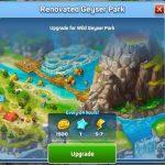 Upgrade Wild Geyser Park