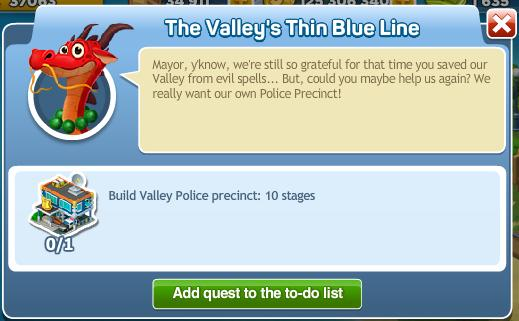 The Valley's Thin Blue Line 0