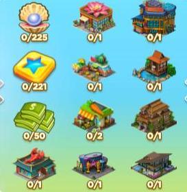 Lotus Towers Chest Rewards Set-1
