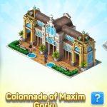 Colonnade of Maxim Gorky