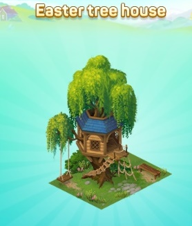 Easter-tree-house