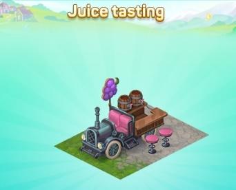 Juice-tasting