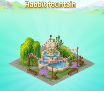 Rabbit-fountain